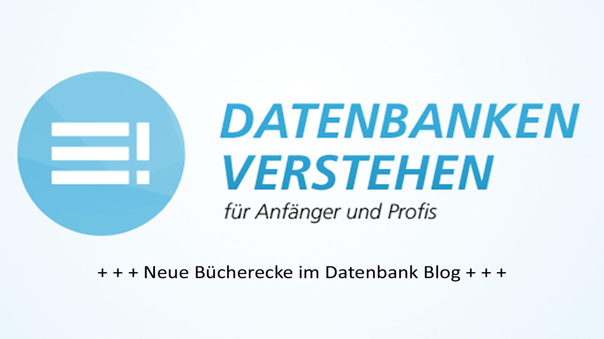 Neue Bücherecke im Datenbank Blog | Datenbank Blog